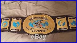 WWF Official Intercontinental Championship Replica Belt WWE 2000 Adult Size