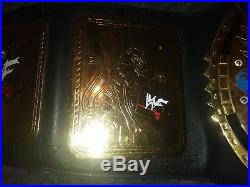 WWF Scratch Logo Attitude Era Big Eagle Championship Title Belt Replica WWE