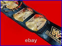 WWF WINGED EAGLE WRESTLING CHAMPIONSHIP TITLE WWE WRESTLEMANIA ADULT 2mm DUAL