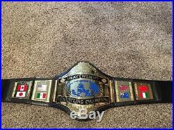 WWF WWE 1986 Hulk Hogan Adult Replica Championship Belt RARE Vintage Figures Toy