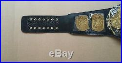 WWF/WWE 2 pieces beltes Classic Gold Winged Eagle Championship replica Belts