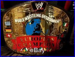 WWF WWE ADULT REPLICA EUROPEAN Championship Belt