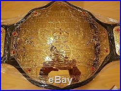 WWF WWE Adult World Heavyweight Championship Title Belt