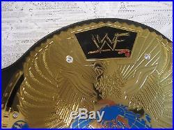 Wwf Wwe Big Eagle Replica Attitude Era Championship Full Size Belt Free Shipping