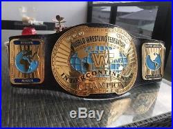 WWF WWE Block Logo intercontinental Championship Belt