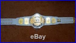 WWF WWE Classic Gold White Winged Eagle Championship Belt Adult Size
