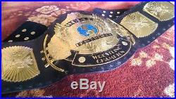 WWF / WWE Classic Gold Winged Eagle Championship Belt