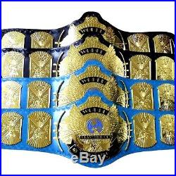 WWF WWE Classic Gold Winged Eagle Championship Belt Adult 4mm Thick brass Plated