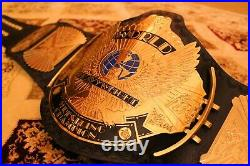 WWF WWE Classic Gold Winged Eagle Championship Belt Adult size Original Leather