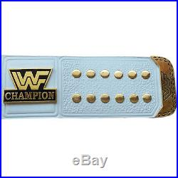 WWF/WWE Classic Gold Winged Eagle Championship Replica Belt 4mm Thick Plate, WHT