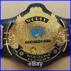 WWF/WWE Classic Gold Winged Eagle Championship Replica Belt Brass Plated Adult