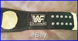 WWF/ WWE Classic Winged Eagle Championship Adult Size withMetal Plates Title Belt
