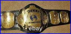 WWF / WWE Classic Winged Eagle Ultra Delux Championship Belt Autograph Nash HBK
