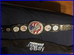 WWF WWE ECW TNA John Cena US Championship SPINNER Belt
