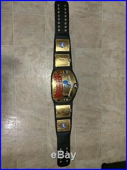 WWF WWE European Championship Replica Belt Official Figures Toy Company
