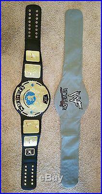 WWF WWE Heavyweight Championship Belt Attitude Era Replica Rock Stone Cold Adult