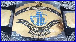 WWF/WWE INTERCONTINENTAL WRESTLING CHAMPIONSHIP Replica BELT THICK PLATES