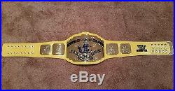 WWF WWE Intercontinental Championship Belt auto'd Bret Hart, Ted Dibiase, MORE