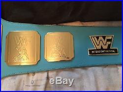 WWF/WWE Intercontinental championship belt replica