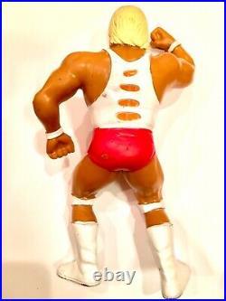 WWF WWE LJN 1988 White Shirt Hulk Hogan with Custom Championship Belt