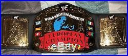 WWF WWE Original 2001 Licensed Adult European Championship Replica Title Belt