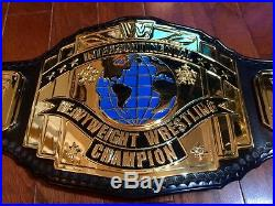 Wwf Wwe Releathered Master Series Intercontinental Championship Wrestling Belt