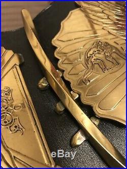 WWF WWE Replica Winged Eagle Wrestling Championship Belt Adult Size