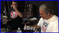 WWF WWE Winged Eagle Championship Belt Signed By Bret Hart