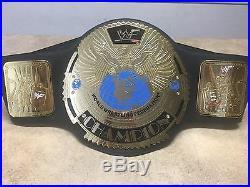 WWF WWE World Championship Belt Title Attitude Era Adult Full-Size Replica