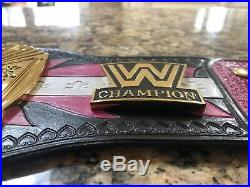 WWF / WWE real leather championship wrestling belt STRAP ONLY Bret Hart