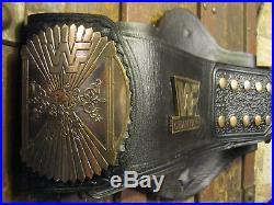 WWF Winged Eagle Championship Belt 11 Adult WWE WCW Wrestling Dual Plated 4MM