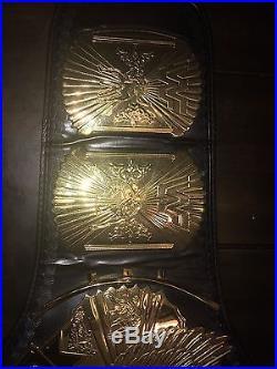 WWF Winged Eagle & WWE Big Eagle Championship Belts Title Combo Deal