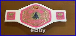 WWF Womens Foam Championship Belt. RARE OOP 1990s WWE