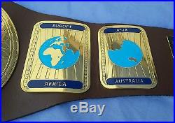 WWF World Intercontinental Championship Wrestling Leather belt
