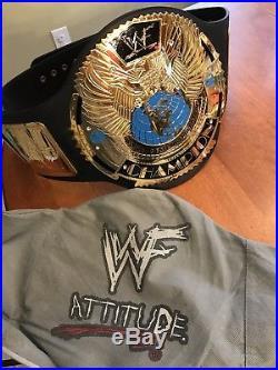 WWF attitude era Eagle championship title belt replica adult size WWE