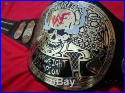 WWF stone cold smoking skull Heavy weight Championship Replica Belt wwe