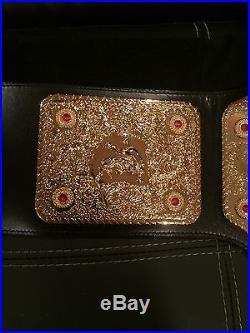Wcw Big Gold Championship Belt Wwe