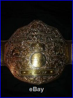 Wcw Big Gold World Heavyweight Championship Title Belt (wwf, Wwe, Iwgp, Tna, Aew)