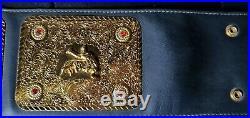 Wcw World Heavyweight Championship Adult Size Replica Belt With Case Wwe Wwf Nwa