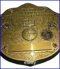 Wcw World Heavyweight Championship Title Belt Replica 2014 Wwe Hogan Flair Adult