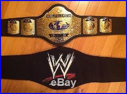 Wcw World Television Championship Replica Belt Wwf Wwe Adult