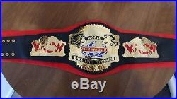 Wcw ecw wwe wwf cruiserweight championship adult rare replica title belt