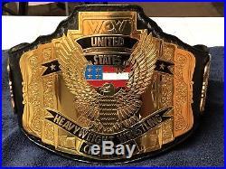 Wcw united states championship Title belt Wwe Wcw Ecw Nwa Tna Roh