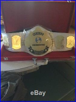 White World Wrestling Federation Heavyweight Championship Belt