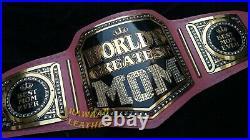 World Best Mom Championship Belt Adult Size Wrestling Replica Title