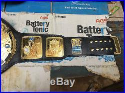 World Heavyweight WWE Championship Replica Belt Leathers