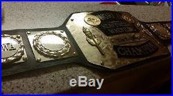 World Heavyweight Wrestling Championship Belt WWE WWF NWA TNA WCW ECW