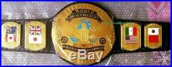 World Wrestling Championship Belt Adult Size