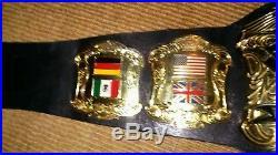 World heavyweight championship belt nwa wwe midatlantic wrestling