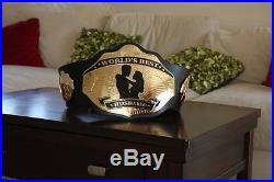 World's Best Husband Championship Belt! WWE WCW TNA REAL Metal Belt! BRAND NEW